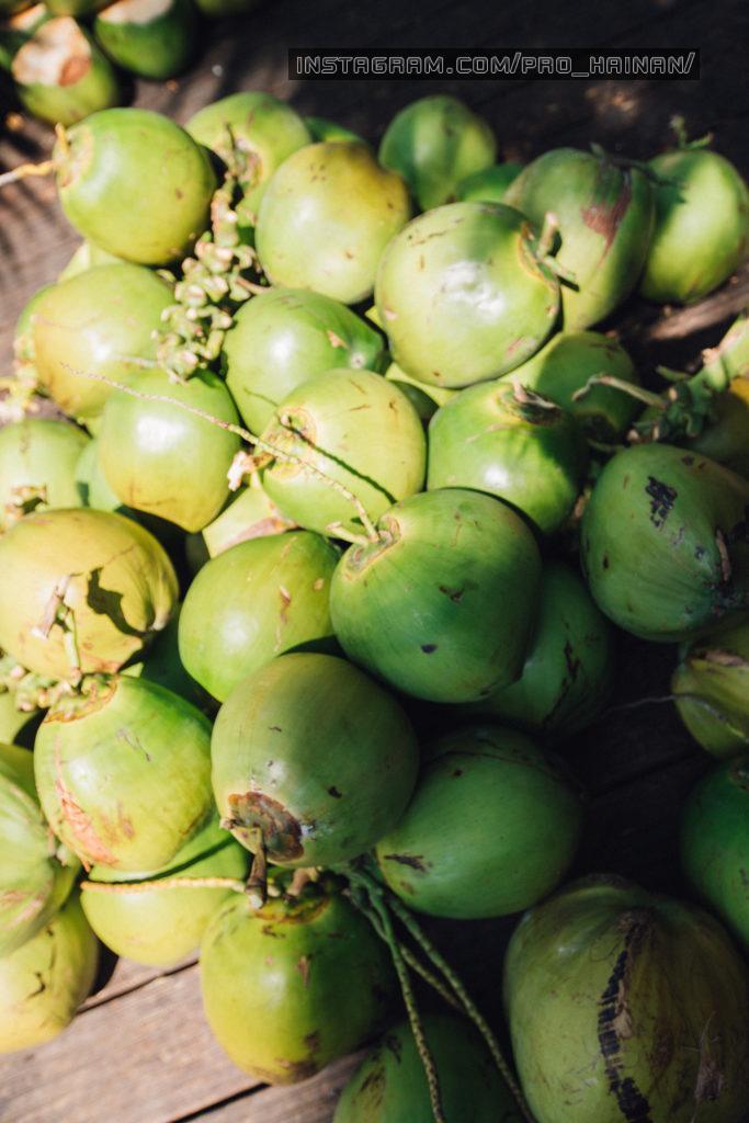 кокосы на хайнань