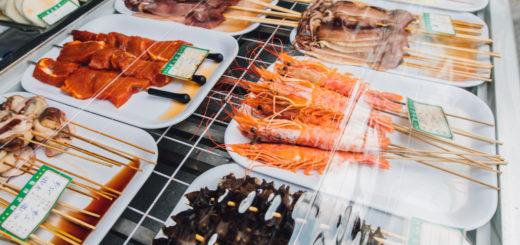 площадь еды dadonghai