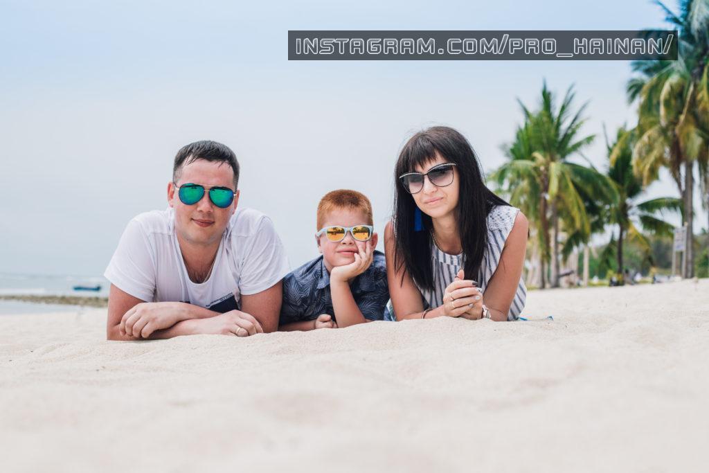 семейная фотосессия санья