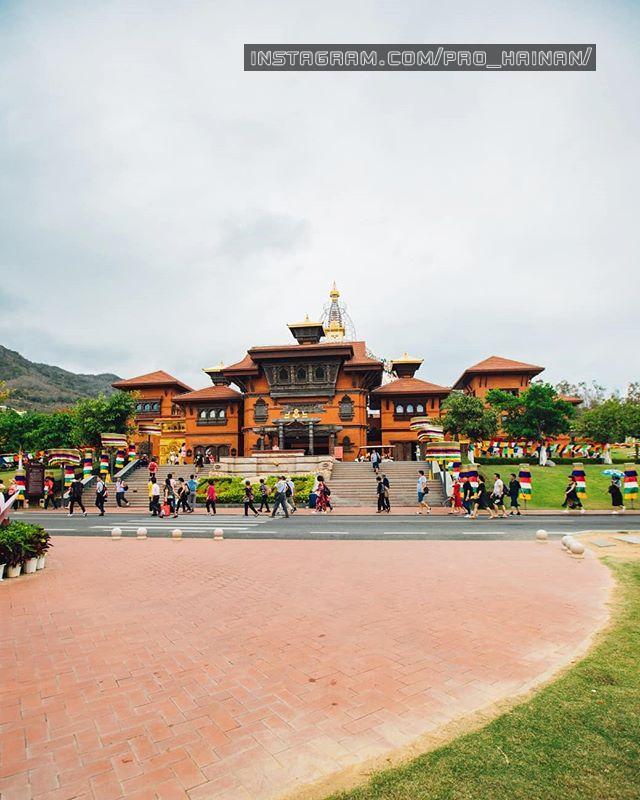 Непальский храм Наньшань