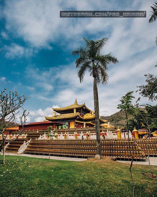 храм золотой богини гуанинь