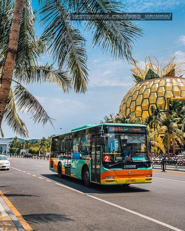 транспорт хайнань Автобусы Санья