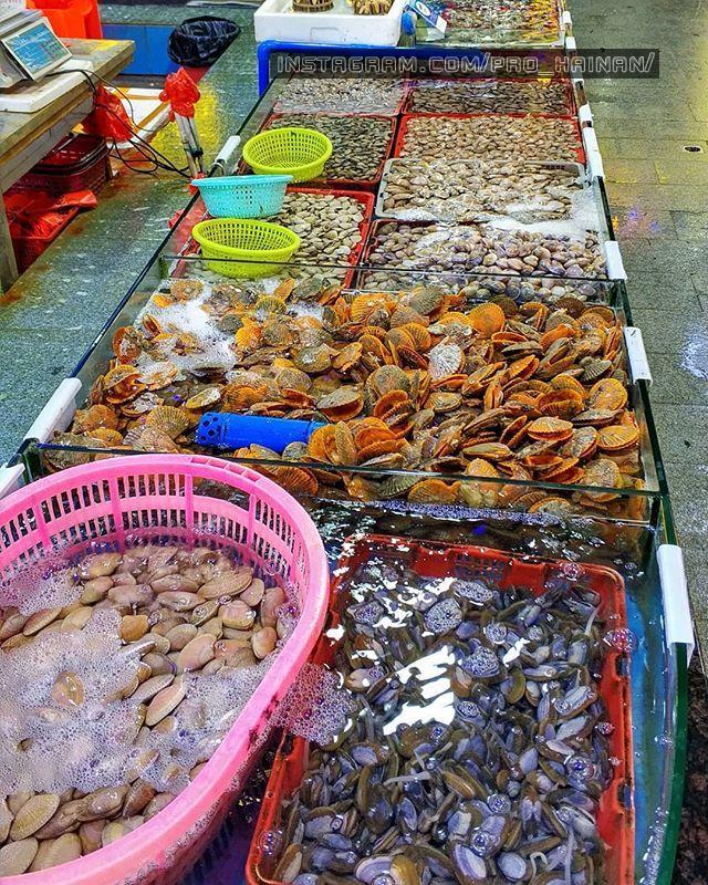 морепродукты в дадунхай