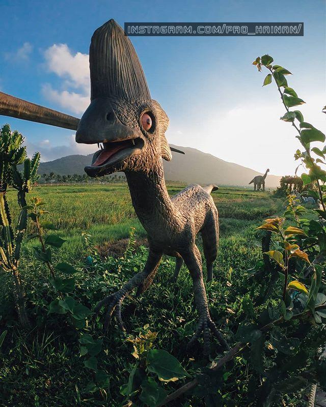 динозавры в санья
