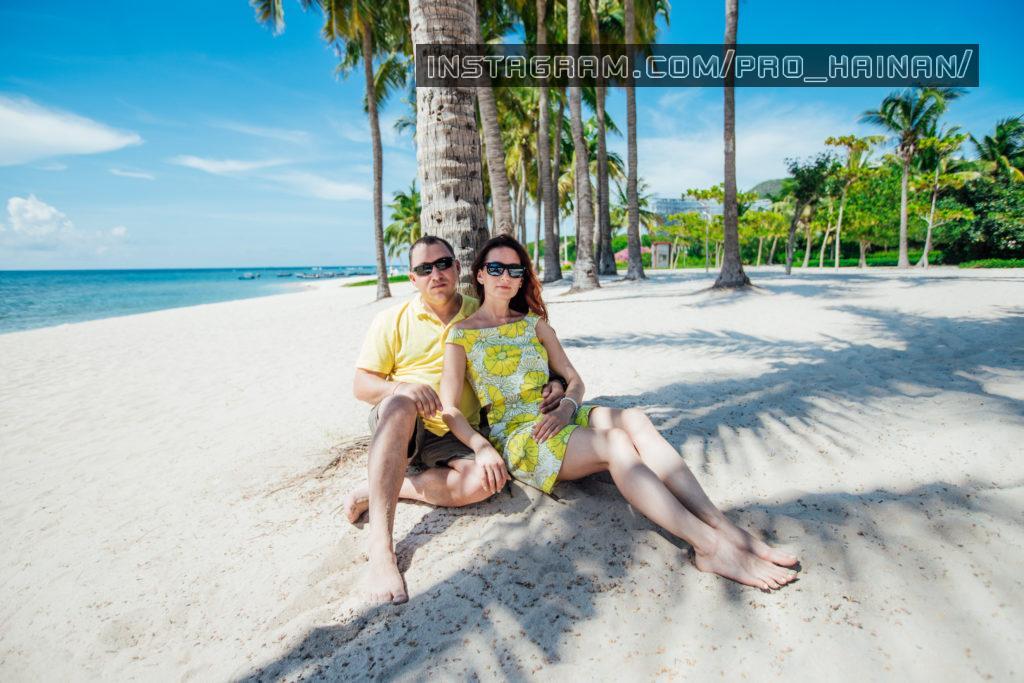 пляжная фотосессия в Санья