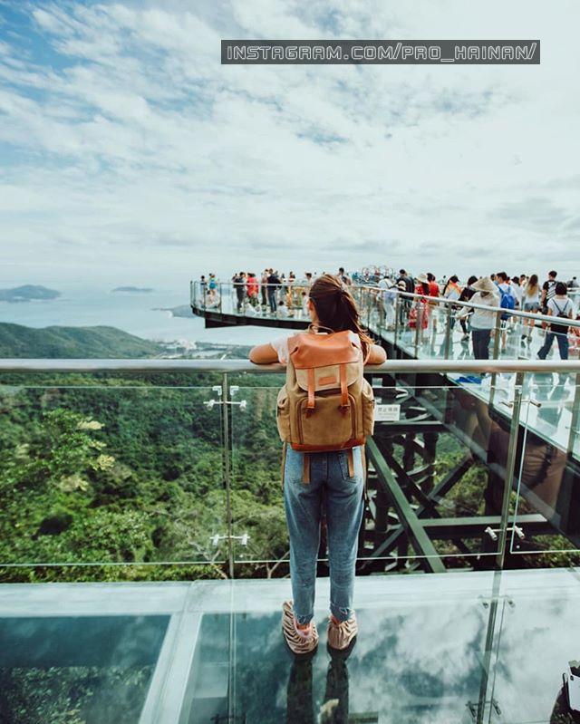 стеклянный мост yalong
