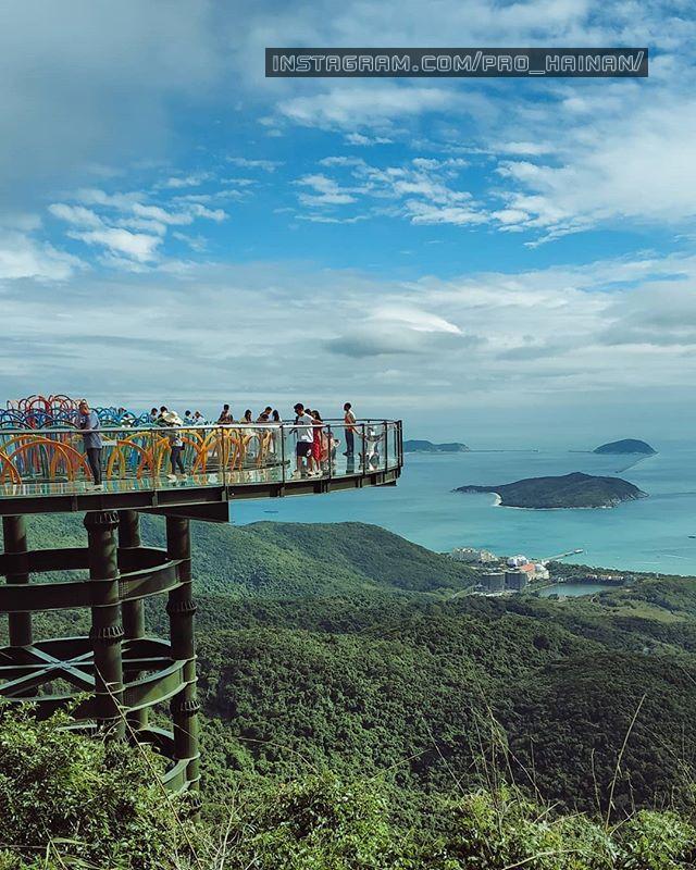 стеклянный мост ялонг бэй