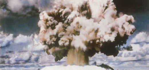подводный ядерный взрыв на хайнане